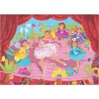 Djeco - Puzzel Ballerina's en bloemen