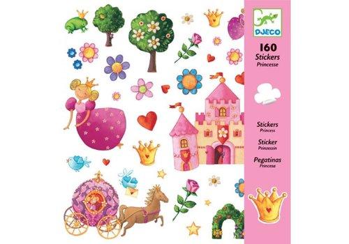 Djeco Djeco - Stickers prinsessen