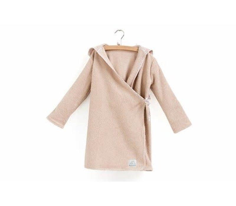 Nanami - Bathrobe organic pink