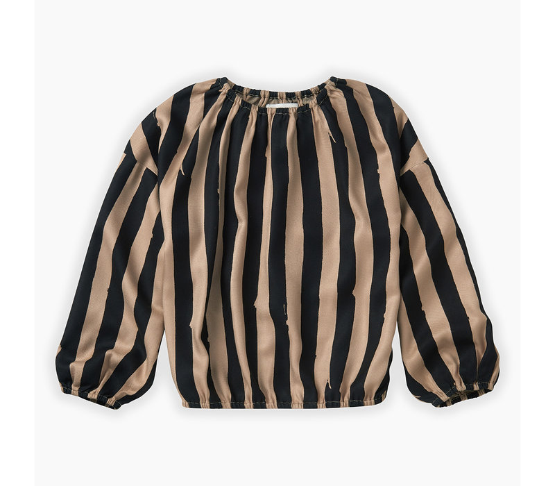 Sproet & Sprout - Blouse Painted Stripe