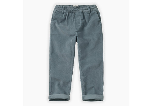 Sproet & Sprout Sproet & Sprout - Pants Corduroy Stone Blue 18/24m