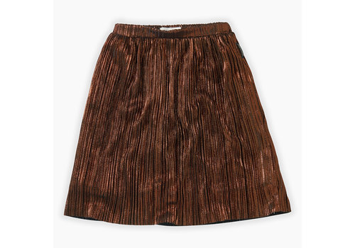 Sproet & Sprout Sproet&Sprout - Midi Skirt Metallic Gold