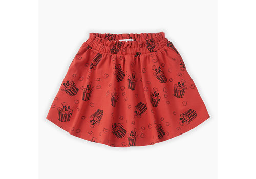 Sproet & Sprout Sproet&Sprout - Skirt Popcorn AOP - 18/24  month