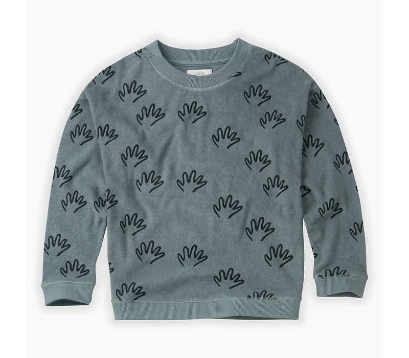 Sproet&Sprout - Sweatshirt Happy Hands AOP