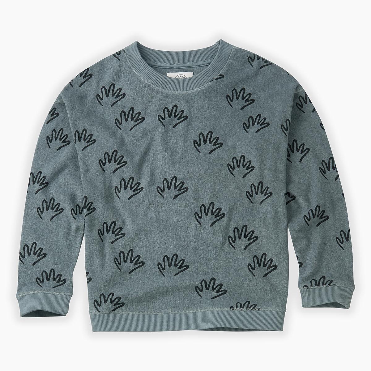 Sproet & Sprout Sproet&Sprout - Sweatshirt Happy Hands AOP