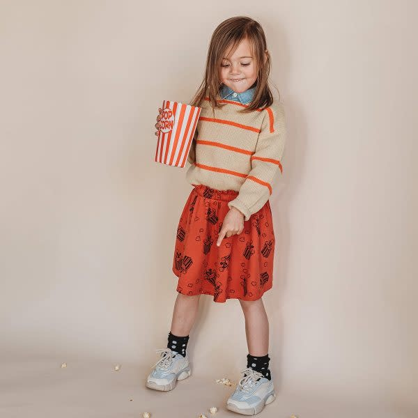 Sproet & Sprout Sproet&Sprout - Skirt Popcorn AOP