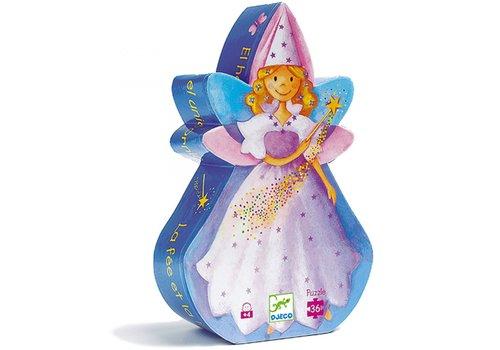 Djeco Djeco - Kartonnen puzzel Fee