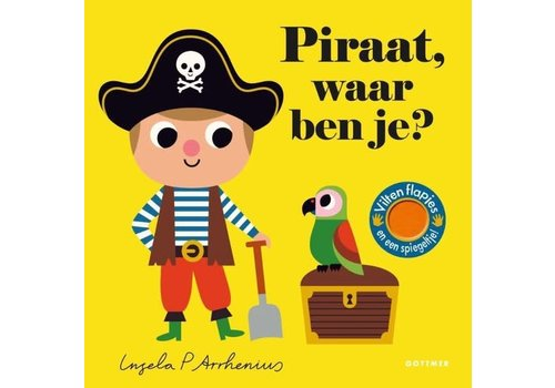 Boeken Waar ben je?  - Prentenboek Piraat