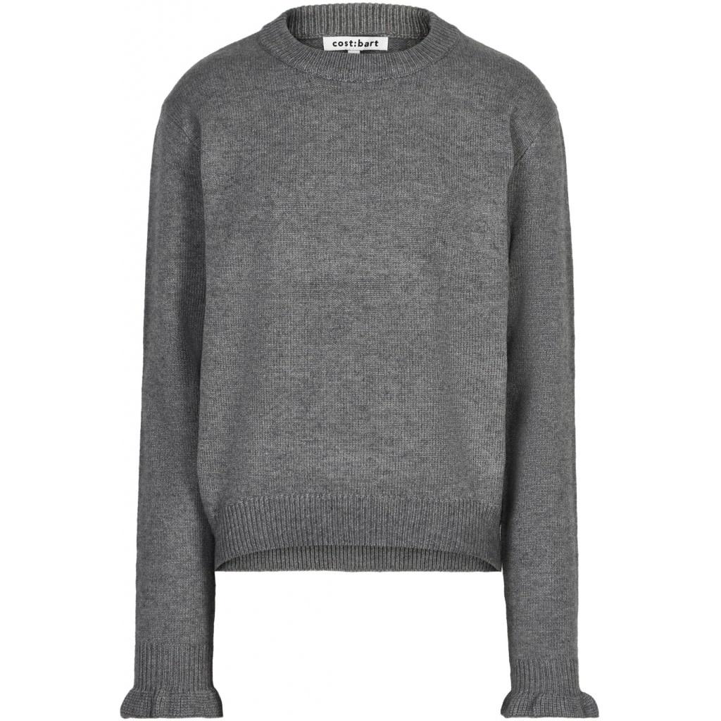 Cost Bart Cost bart - Kakka pullover dark grey melange