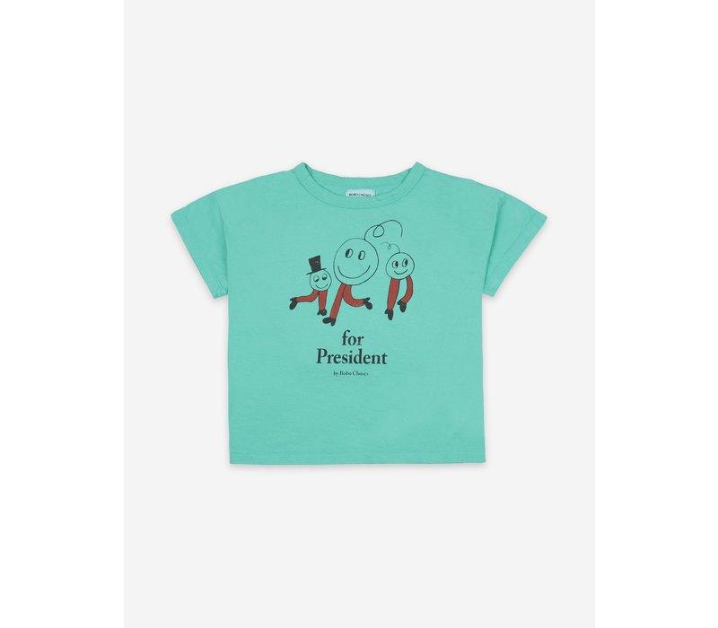 Bobo Choses - Short sleeve T-shirt - Peas for Peace - 2/3y