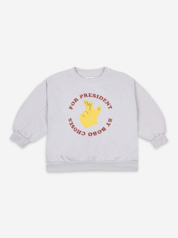 Bobo Choses Bobo Choses - Sweatshirt - Fingers Crossed