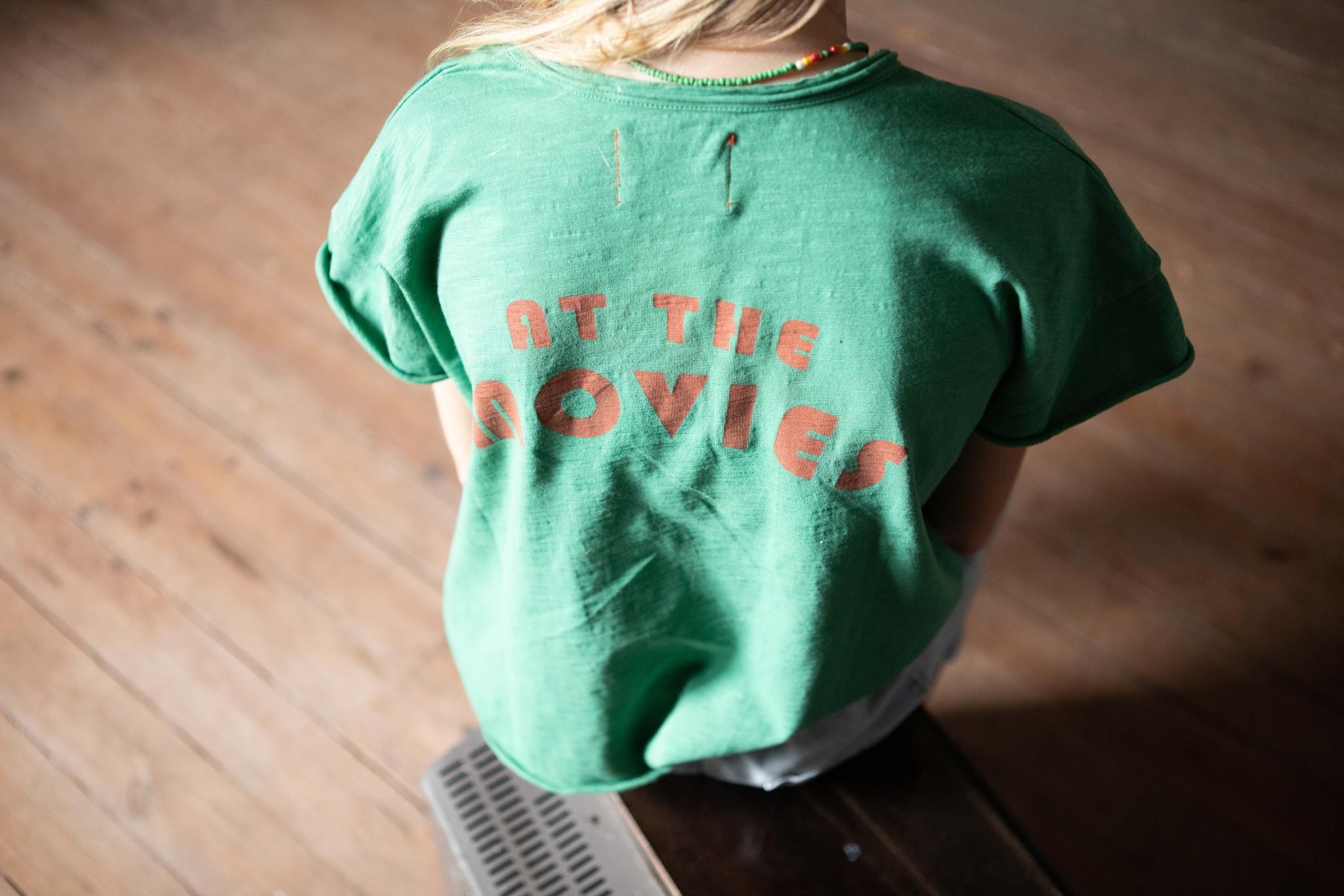 Piupiuchick Piupiuchick - T-shirt green with print