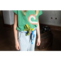 Piupiuchick - T-shirt green with print