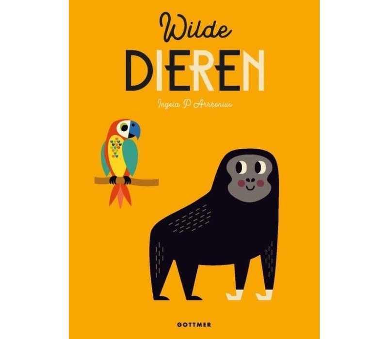 Boek - Wilde dieren karton