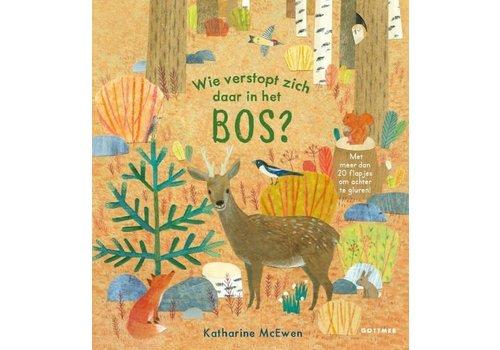 Boek - Wie verstopt zich daar in het bos