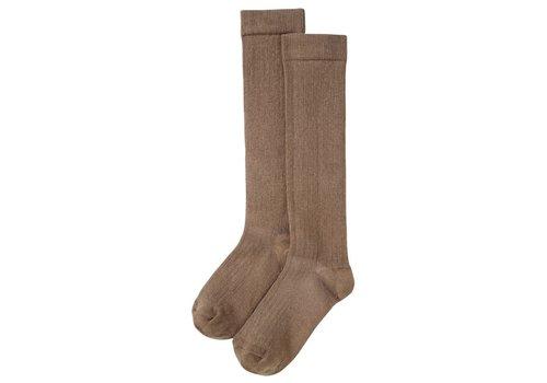 Mingo Mingo - Knee socks moon dust