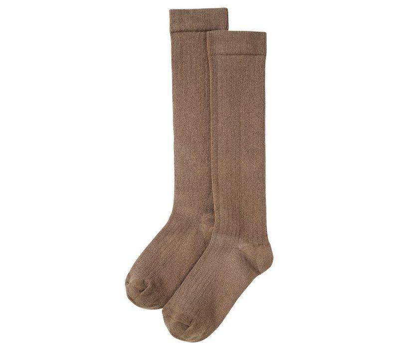 Mingo - Knee socks moon dust