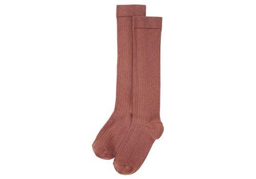 Mingo Mingo - Knee socks sienna rose