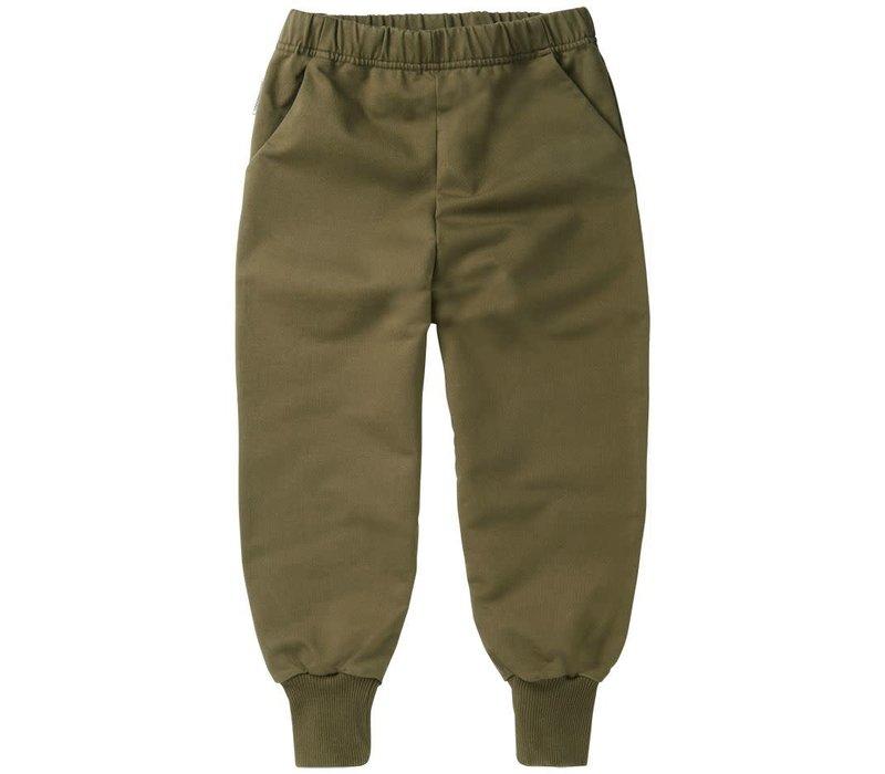 Mingo - Sweat pants sage green