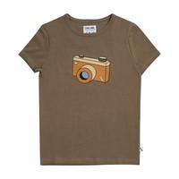 CarlijnQ - Photo camera t-shirt with print -  maat 74/80