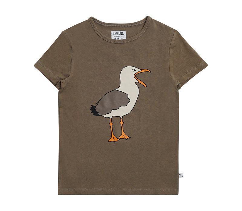 CarlijnQ - Seagull t-shirt with print