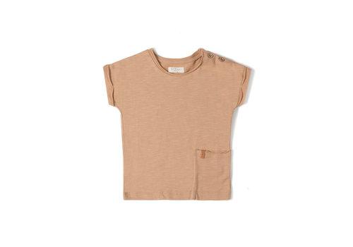 Nixnut Nixnut - Tshirt nude - maat 74