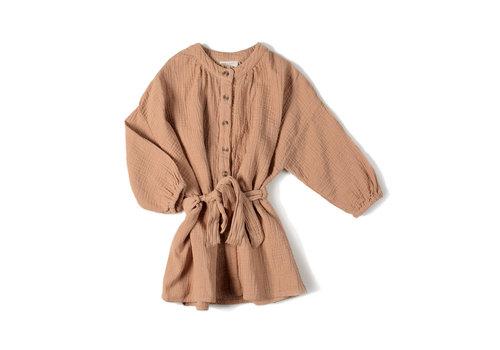 Nixnut Nixnut - Cord dress Nude
