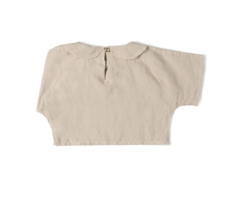 Nixnut - Collar top Sand