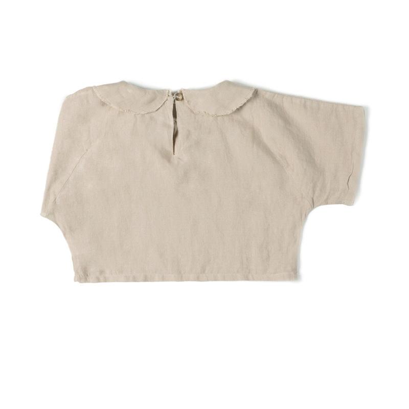 Nixnut Nixnut - Collar top Sand