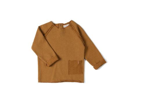 Nixnut Nixnut - Raw shirt Caramel