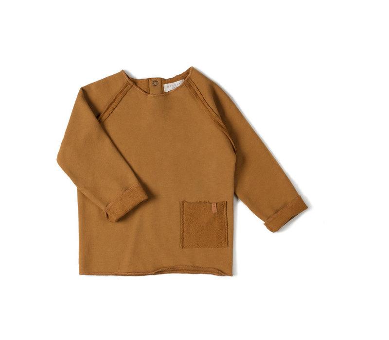 Nixnut - Raw shirt Caramel