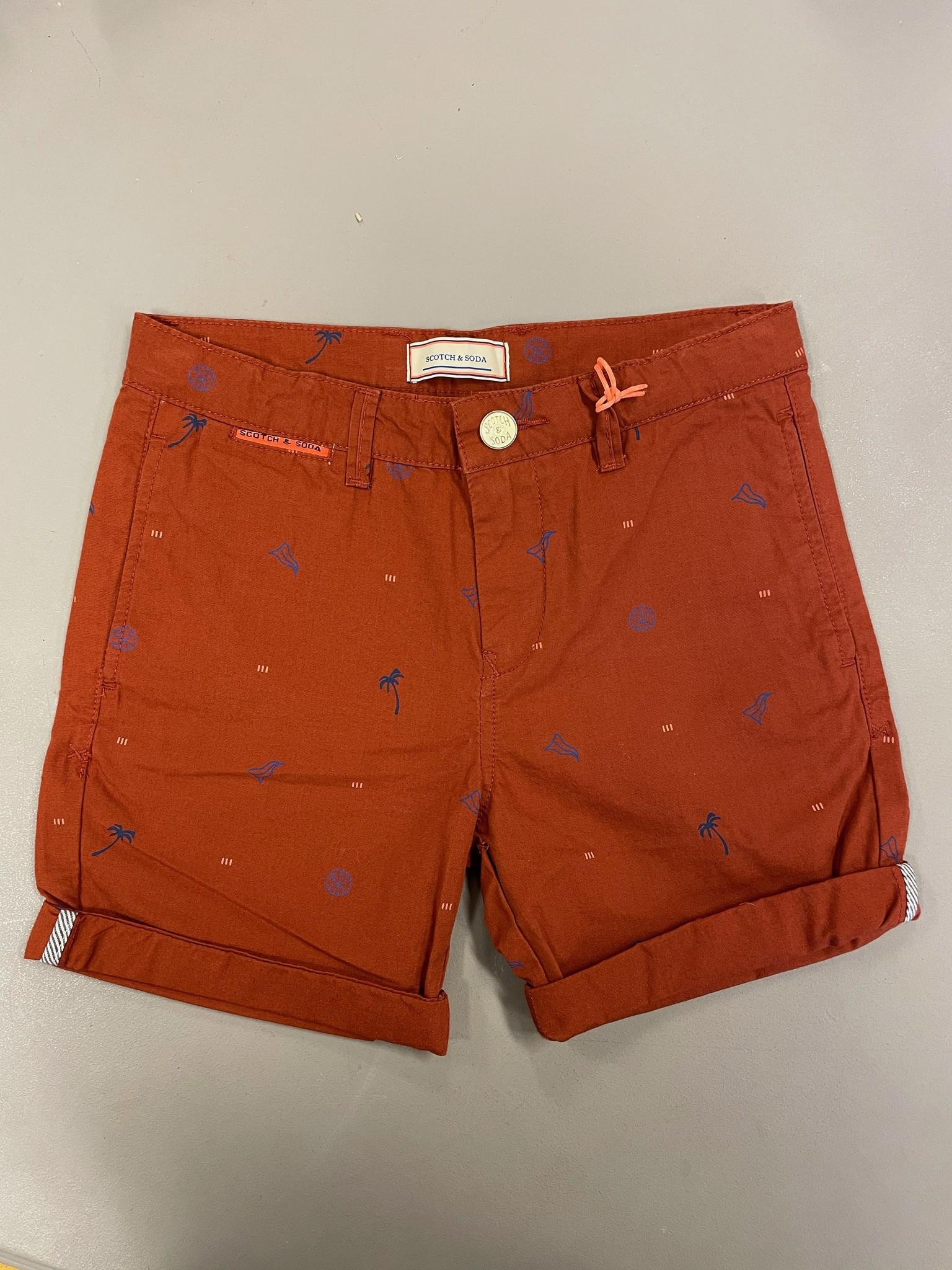 Scotch Shrunk Chino Shorts 154624 - Scotch