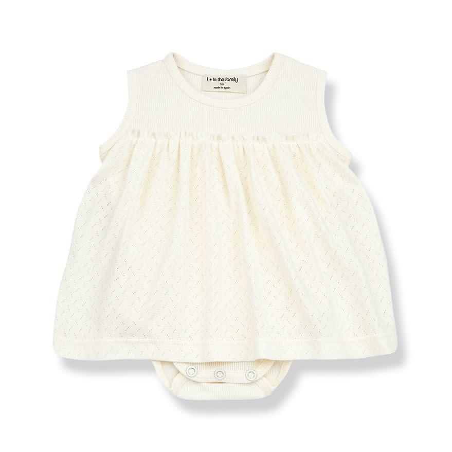 1+ in the family 1+ in the family - Sybillia dress ecru