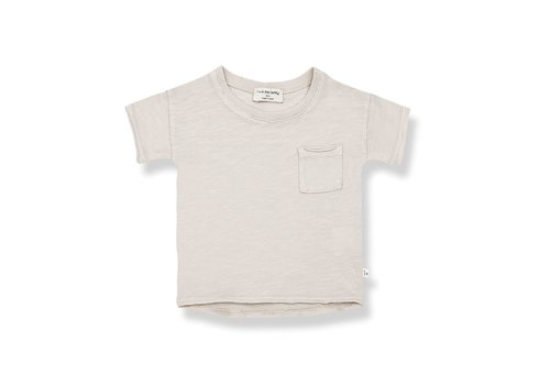 1+ in the family 1+ in the family - Nani short sleeve t-shirt stone - 3 month