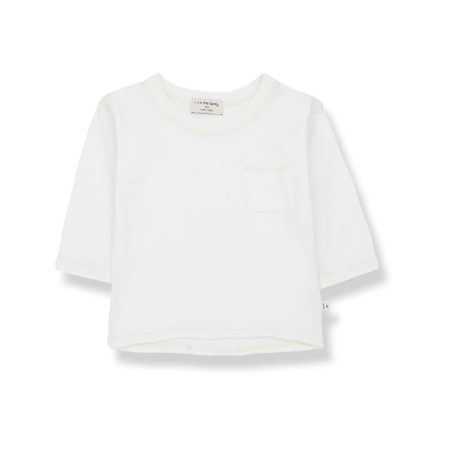 1+ in the family 1+ in the family - Pere long sleeve t-shirt off-white
