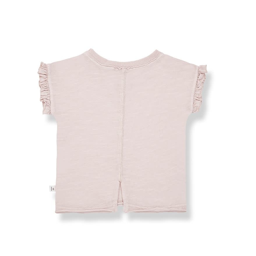1+ in the family 1+ in the family - Mireia short sleeve t-shirt rose