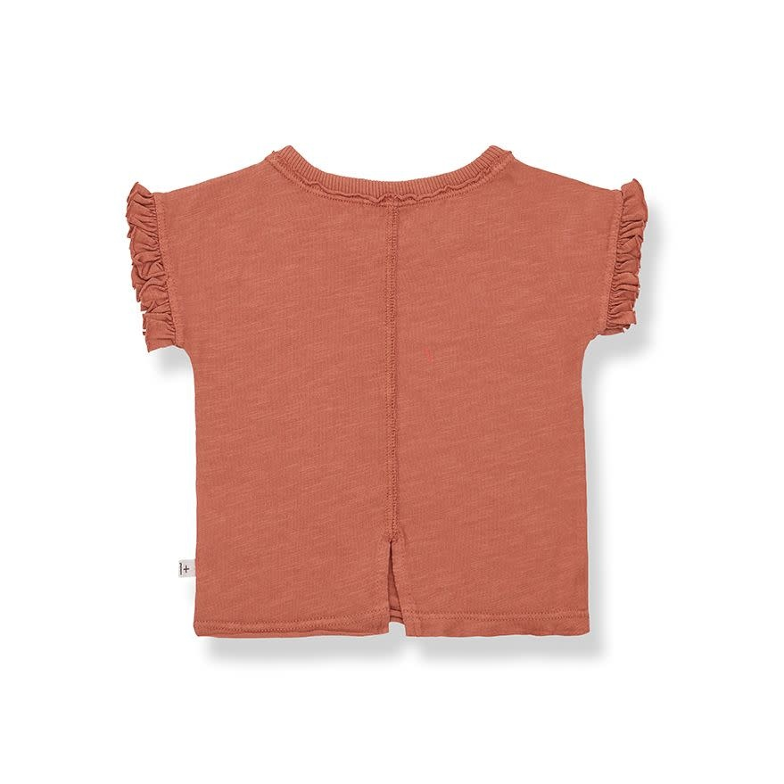 1+ in the family 1+ in the family - Mireia short sleeve t-shirt roibos