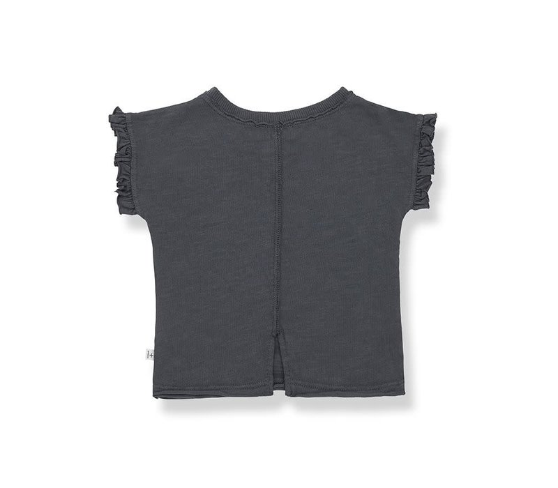 1+ in the family - Mireia short sleeve t-shirt antracite