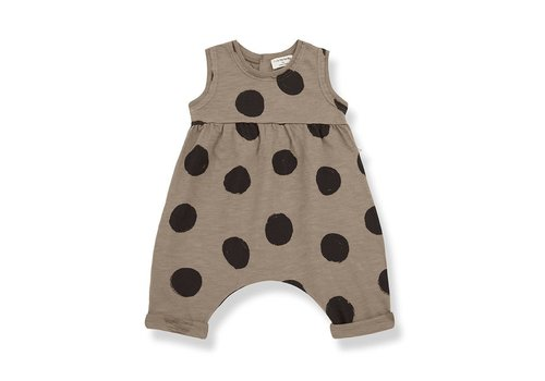 1+ in the family 1+ in the family - Paula jumpsuit khaki - 48 month