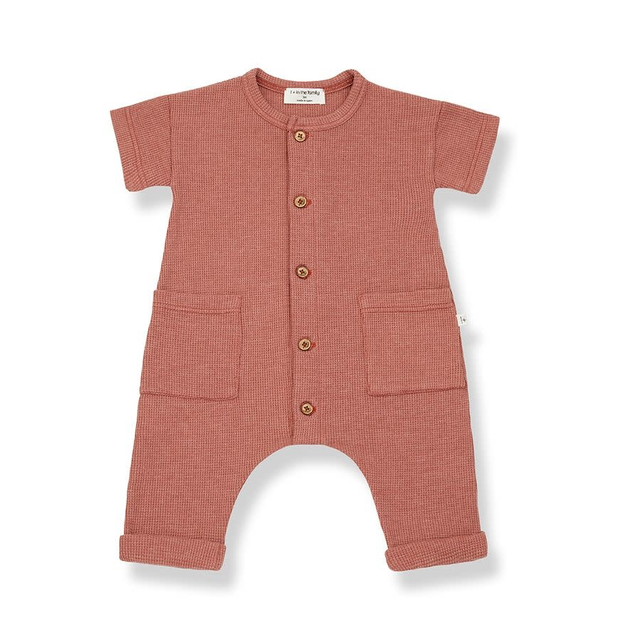 1+ in the family 1+ in the family - Aida jumpsuit roibos