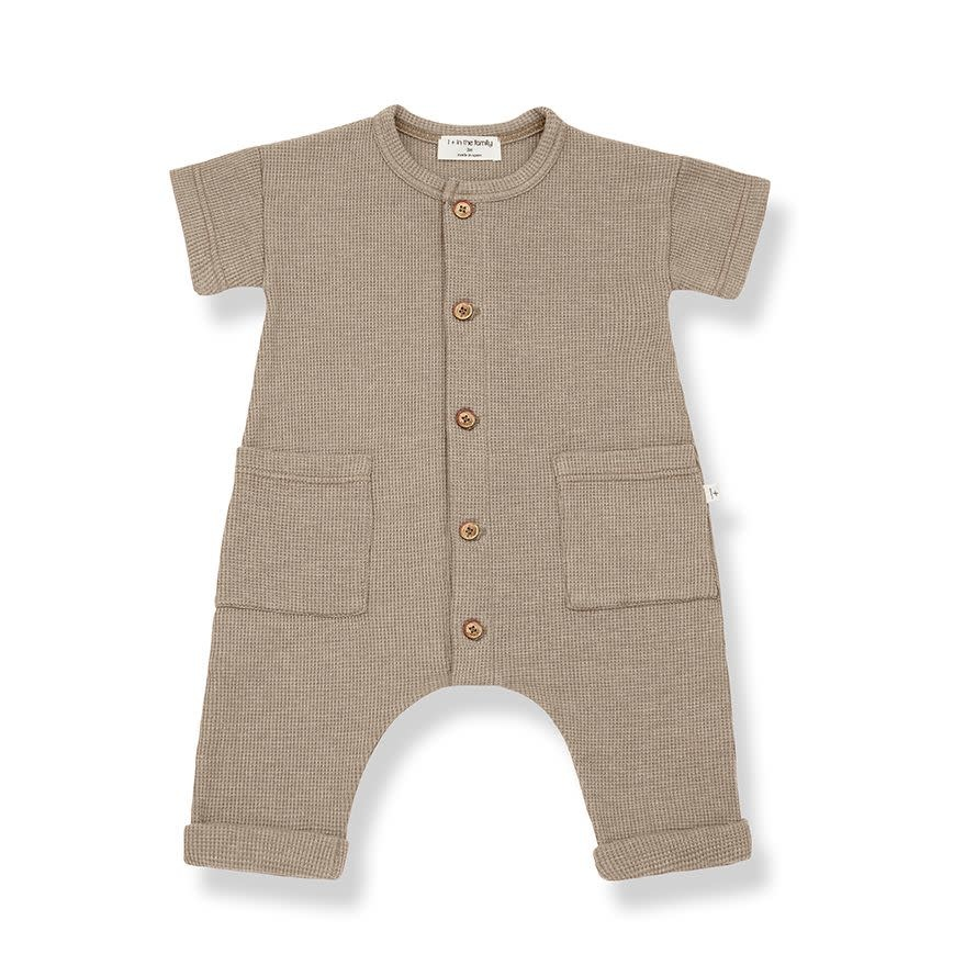 1+ in the family 1+ in the family - Aida jumpsuit khaki