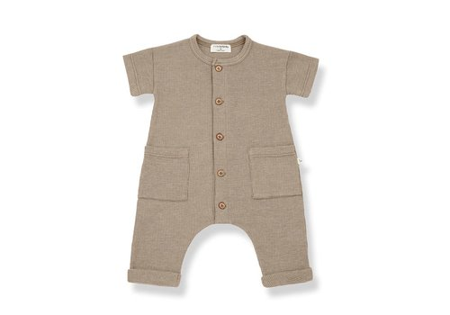 1+ in the family 1+ in the family - Aida jumpsuit khaki - 6 month