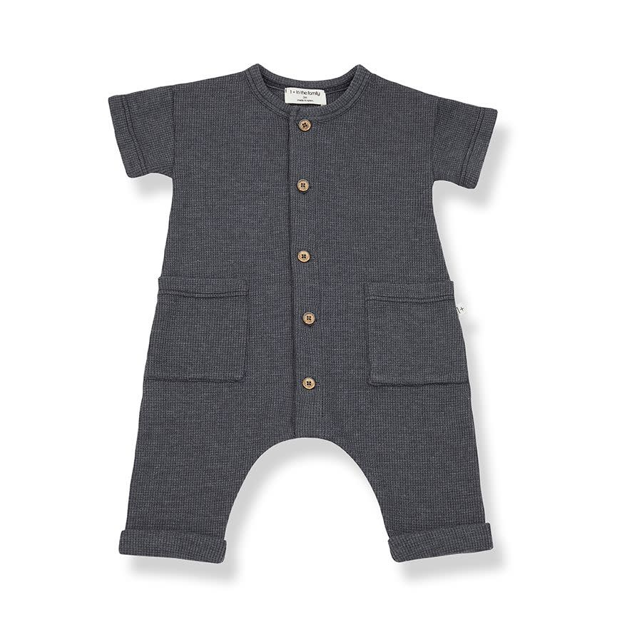 1+ in the family 1+ in the family - Aida jumpsuit antracite
