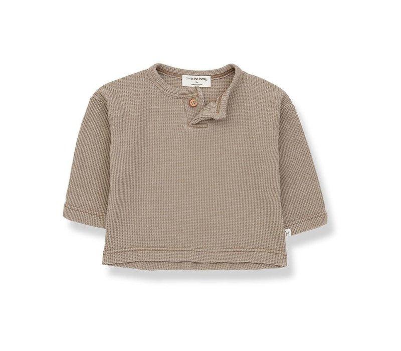 1+ in the family - Ismael t-shirt khaki