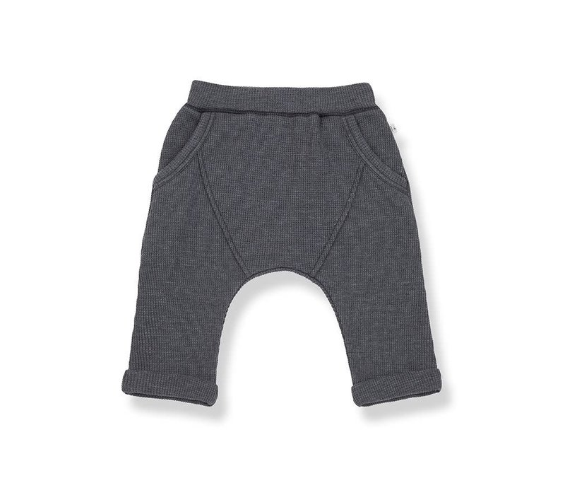 1+ in the family - Tomas baggy pants anthracite
