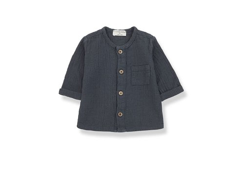 1+ in the family 1+ in the family - Mauri long sleeve shirt anthracite  36  month