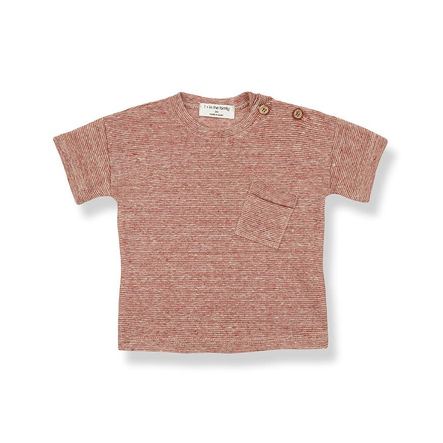 1+ in the family 1+ in the family - Victor short sleeve t-shirt roibos