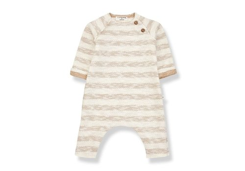 1+ in the family 1+ in the family - Amir jumpsuit beige - 9 month