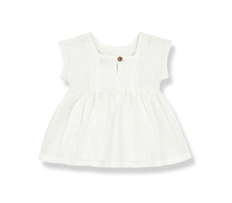 1+ in the family - Bruna dress off-white - 3 month