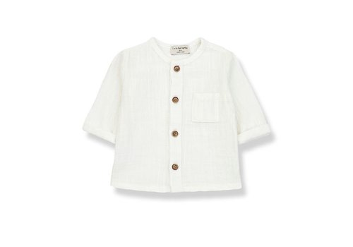1+ in the family 1+ in the family - Mauri long sleeve shirt off-white